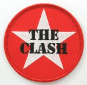 The Clash - 'Star Logo' Round Embroidered Patch